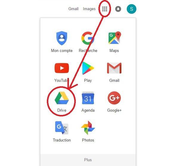Accéder à Google Drive