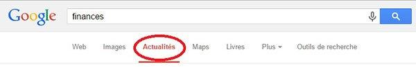 Actualités Google