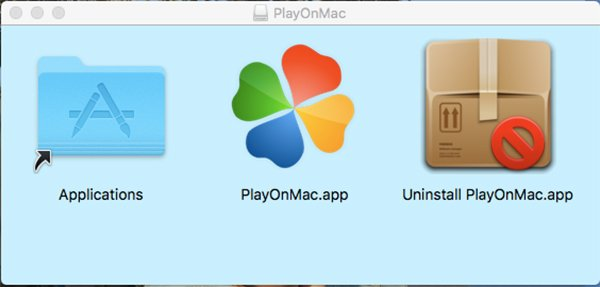 Application PlayOnMac