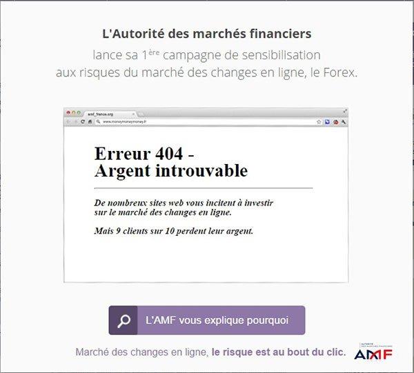 Campagne de prévention AMF