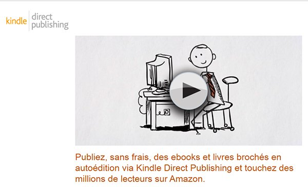 Kindle publishing chez Amazon
