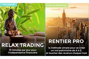 Quelle est la différence entre les stratégies Relax Trading et Rentier Pro ?