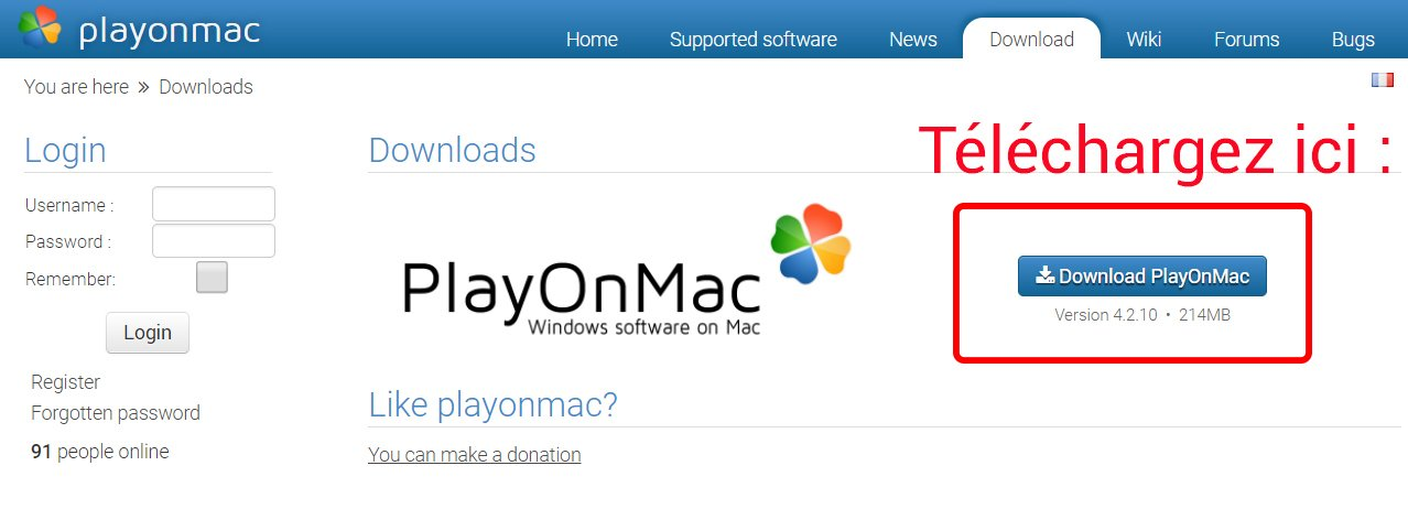 Télécharger PlayOnMac