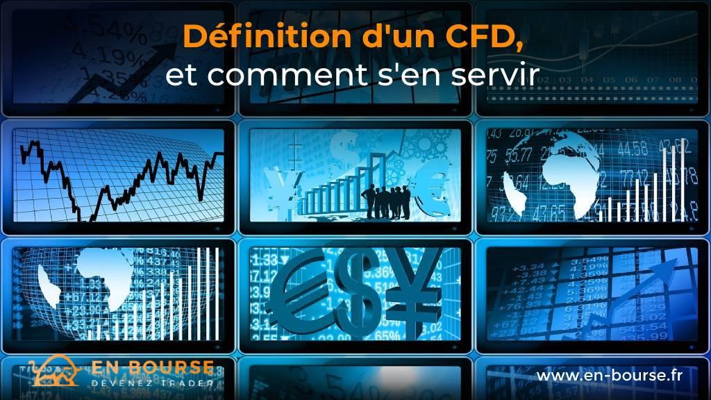Différents types de support pour un CFD