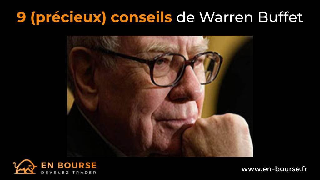 Portrait de profil de Warren Buffet