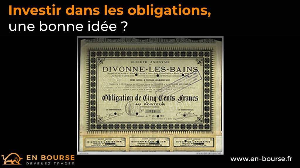 Obligation de 500 cents francs