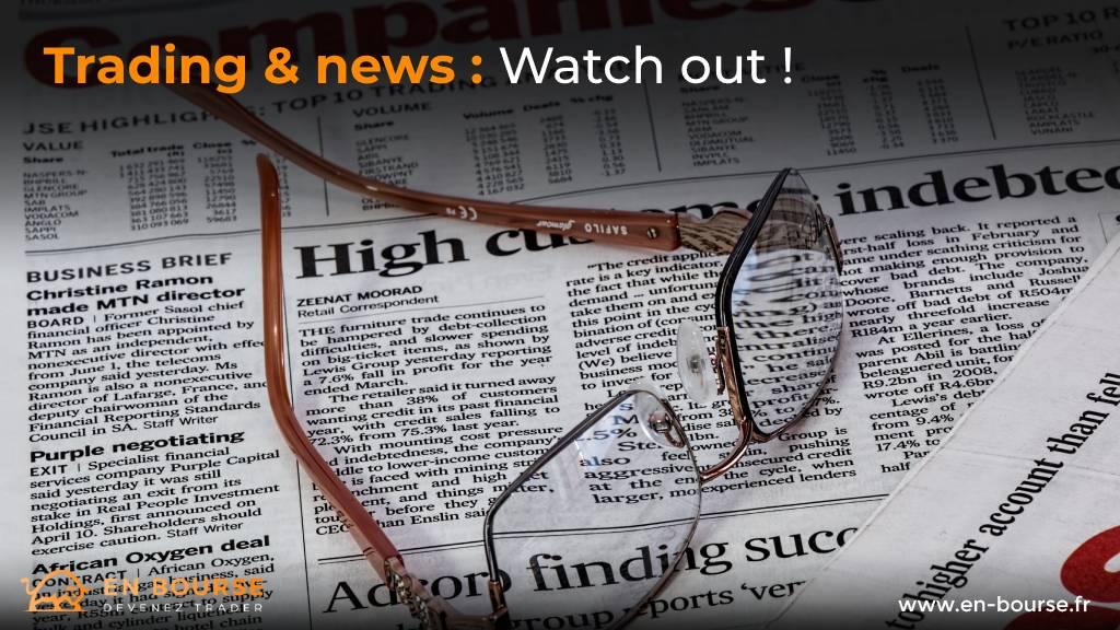Influence des informations sur les marchés boursiers