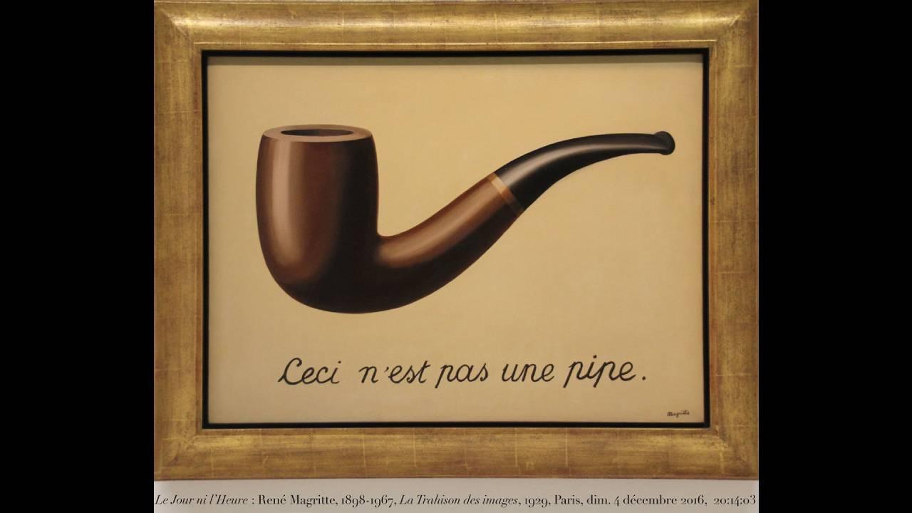 Ceci n'est pas une pipe, tableau de René Magritte