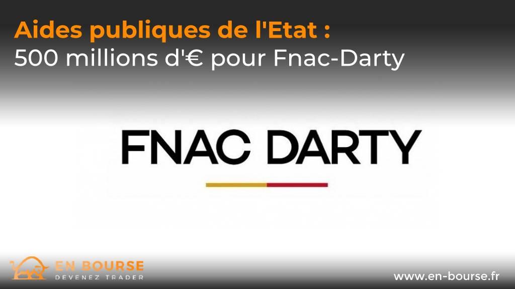 Logo de l'entreprise française Fnac-Darty