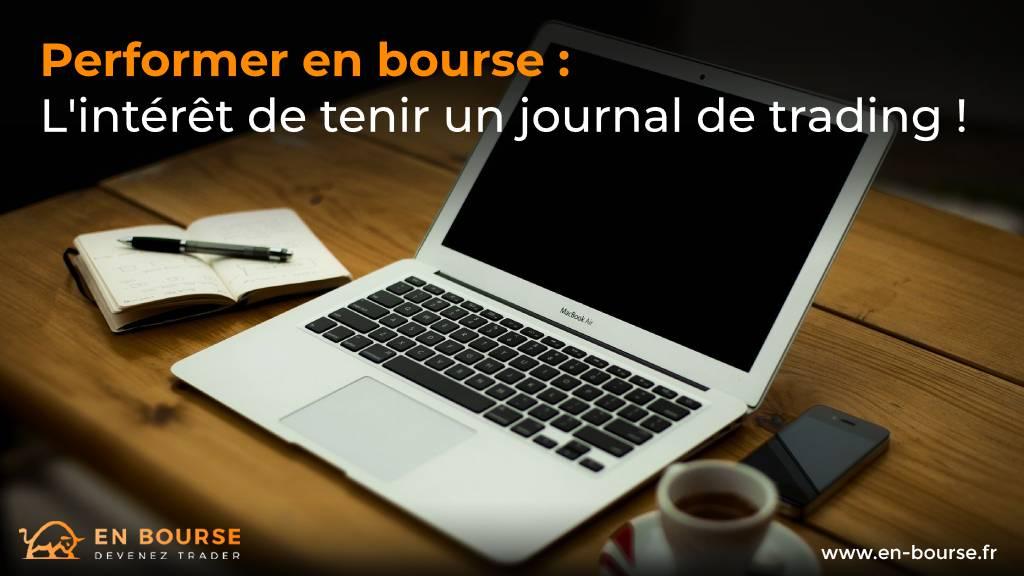 Plusieurs outils pour se connecter à son journal de trading EnBourse : une appli mobile ou un ordinateur