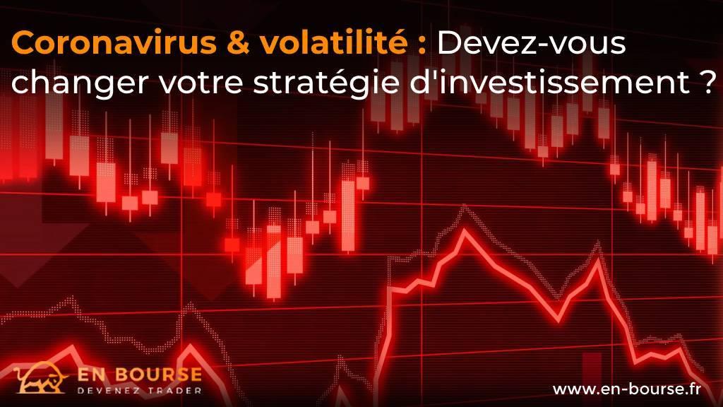 Volatilité des marchés en période de coronavirus
