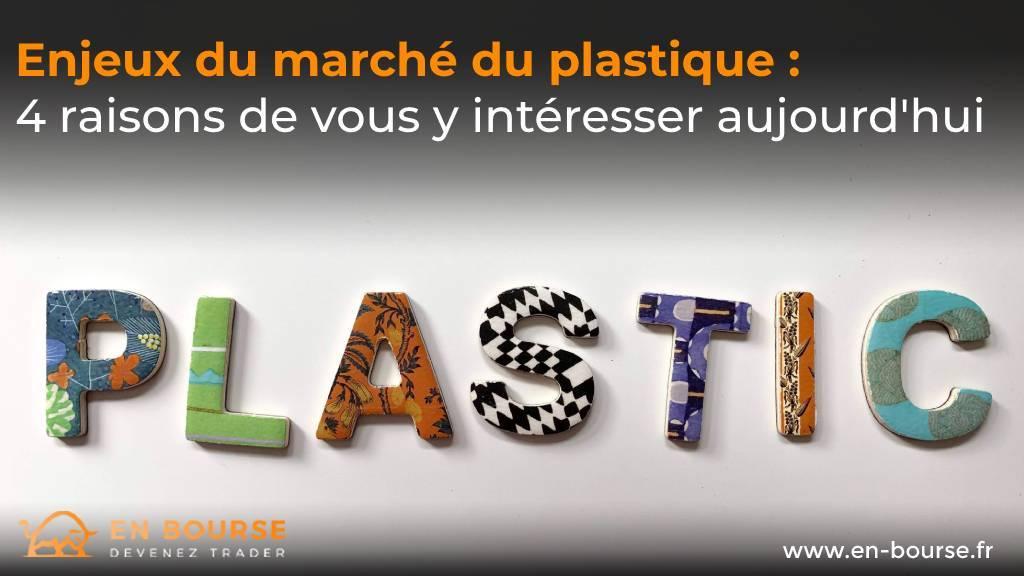 Marché du plastique