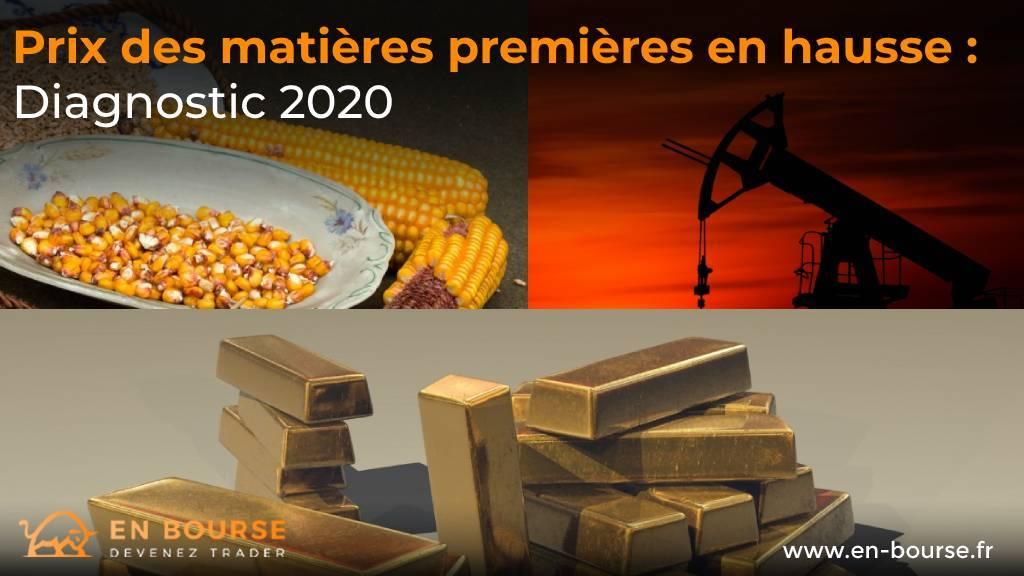 exemples de matières premieres miées au métal, aux produits agricoles et à l'énergie