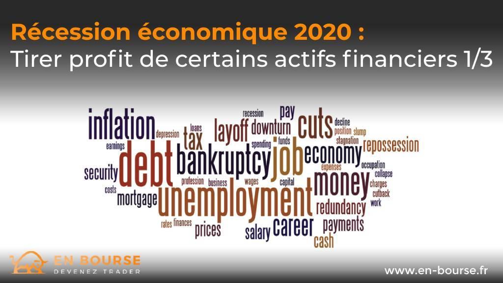 Nuage de mots autour de la crise économique