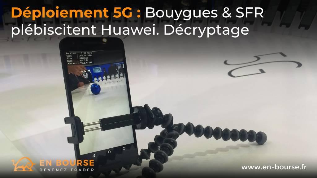 Présentation d'un téléphone 5G