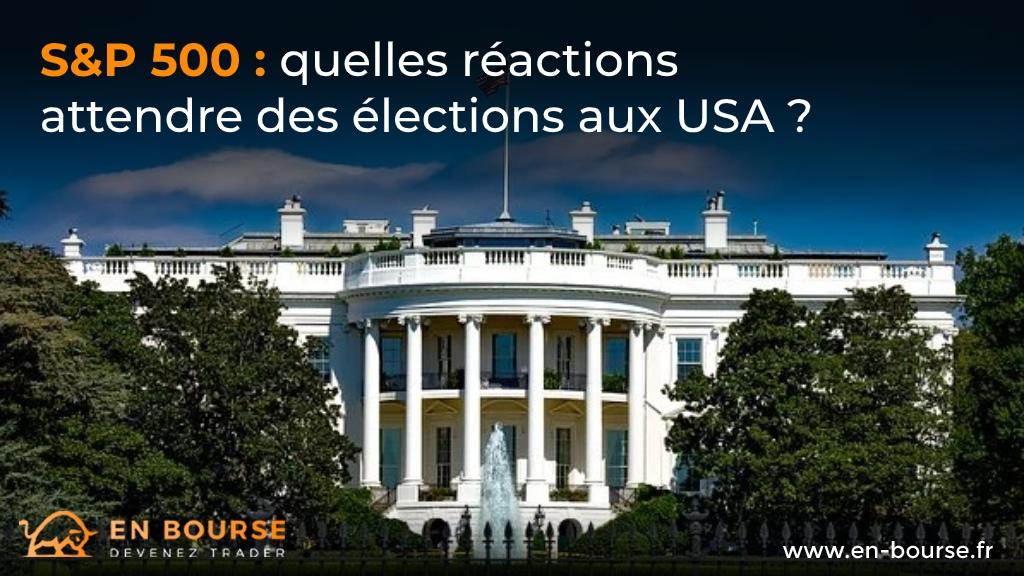 maison blanche élections