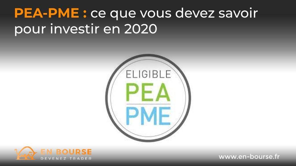 Logo indiquant l'éligibilité PEA-PME
