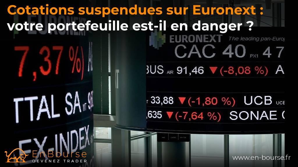 panne chez NYSE Euronext le 19 octobre 2020
