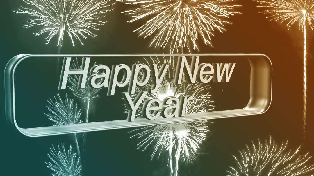 Feux d'artifice du nouvel an