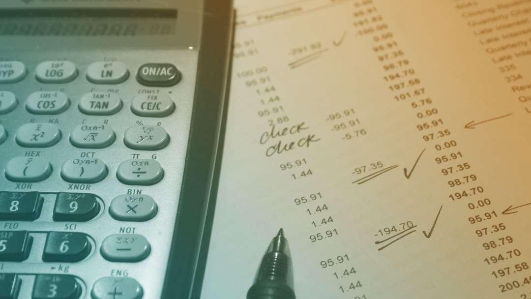 Calcul de l'excédent d'exploitation - EBE