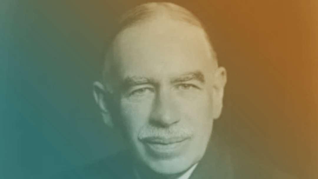 Portrait de Keynes