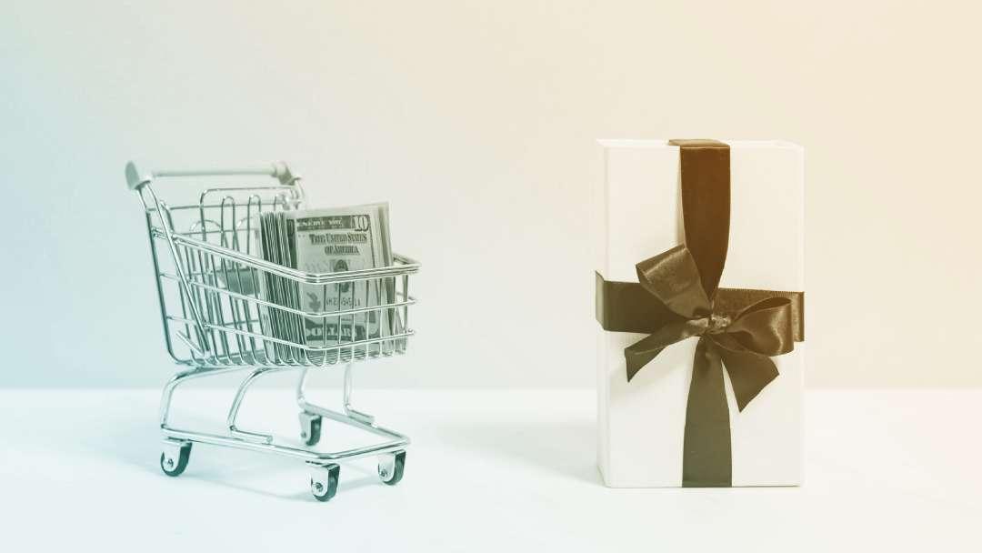 Caddie, cash et cadeau
