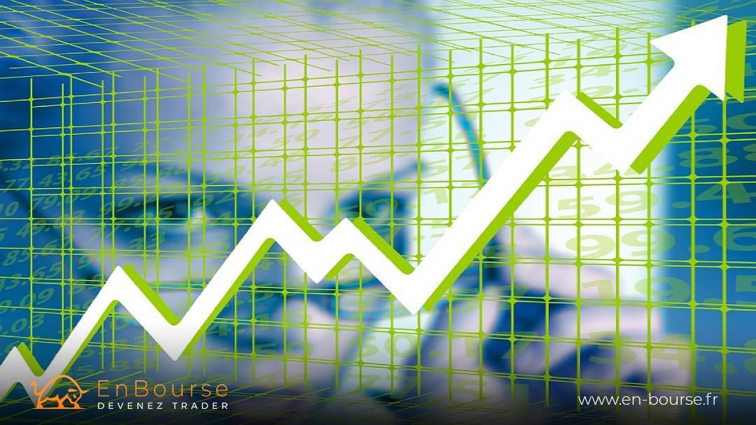 Fluctuation d'un cours de bourse