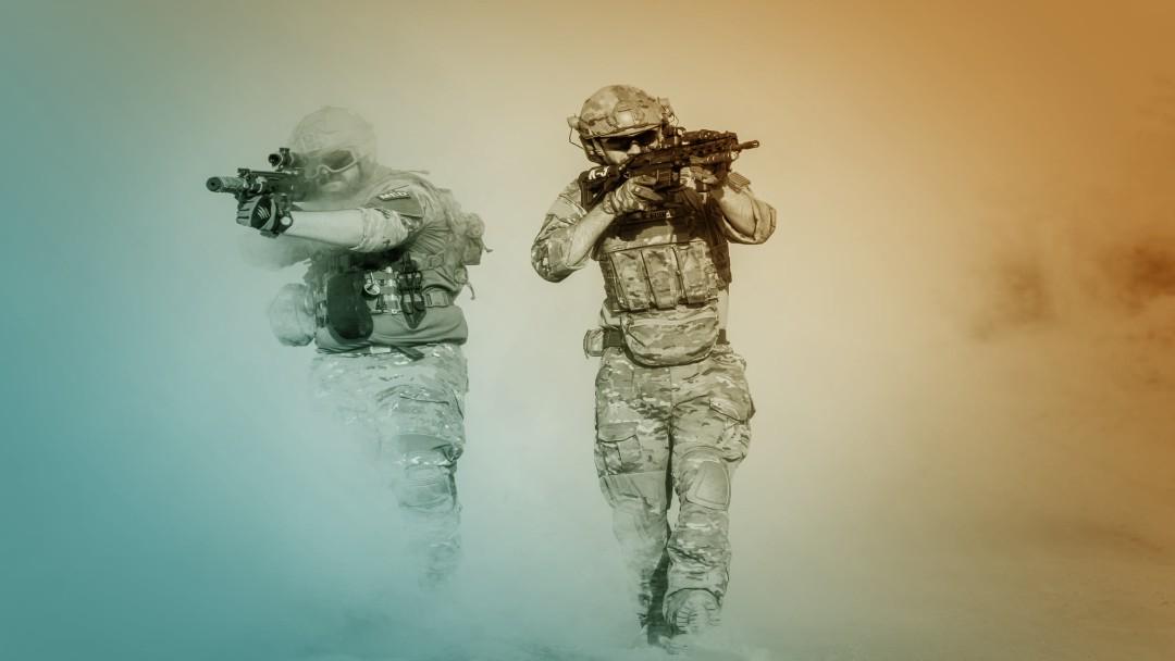 Soldats armés