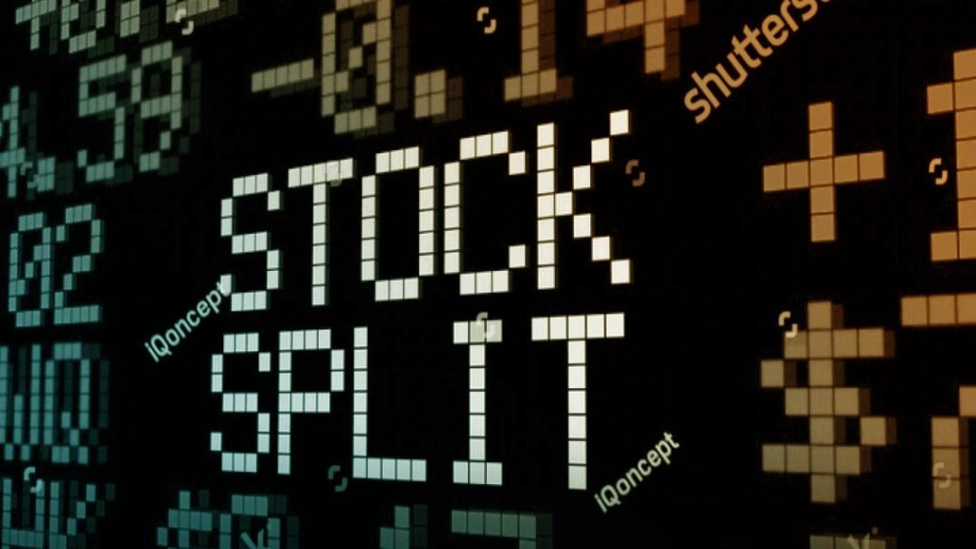 Ecran cours boursiers