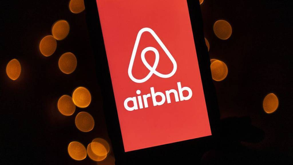 Logo de l'entreprise américiane AirBnb