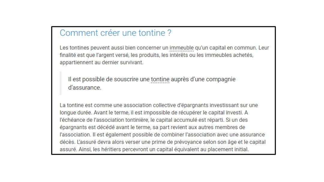 Comment créer une tontine selon le site notaires.fr