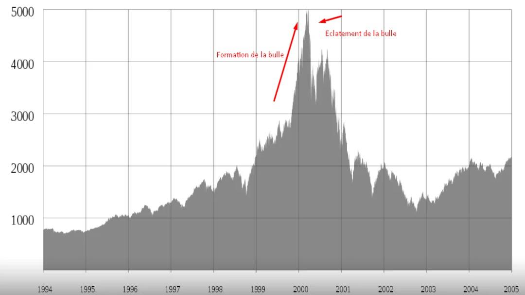 Formation et éclatement d'une bulle spéculative
