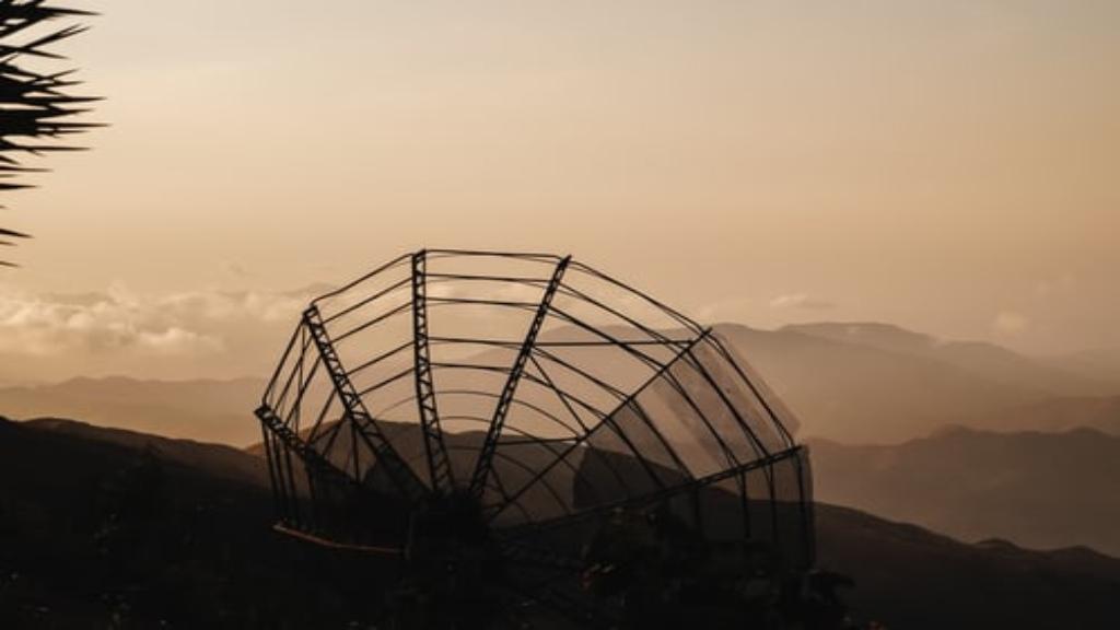 Radar parabolique