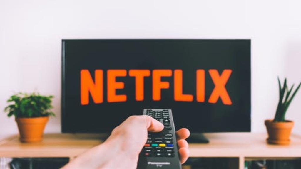Logo Netflix sur un écran