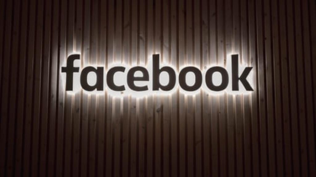 Enseigne Facebook